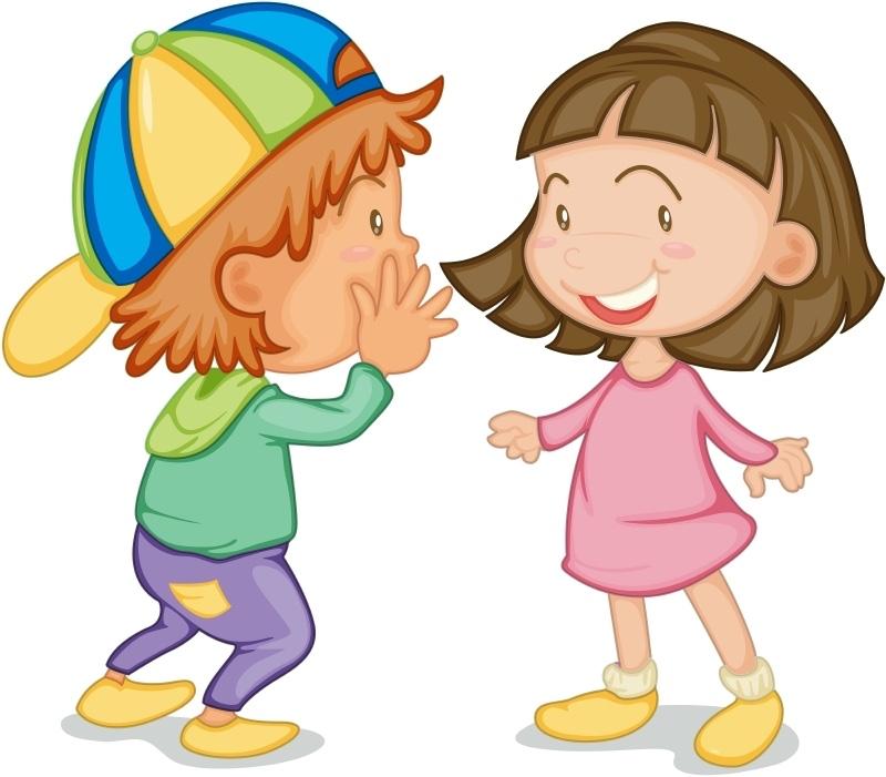 Kinder Reden Clipart